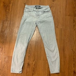 J Brand jeans with zipper detail